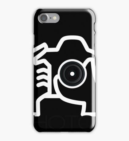 Photographer Camera T-Shirt iPhone Case/Skin