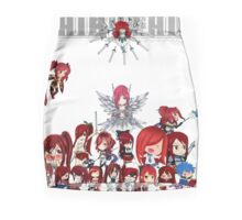 Fairy Tail many faces of Erza anime shirt Pencil Skirt