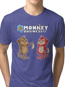 Monkey bussines Tri-blend T-Shirt