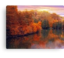 Fall River Canvas Print