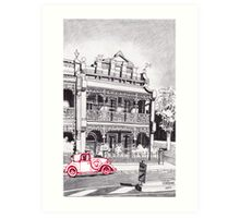 1880's Victorian Lacework Terrace Art Print