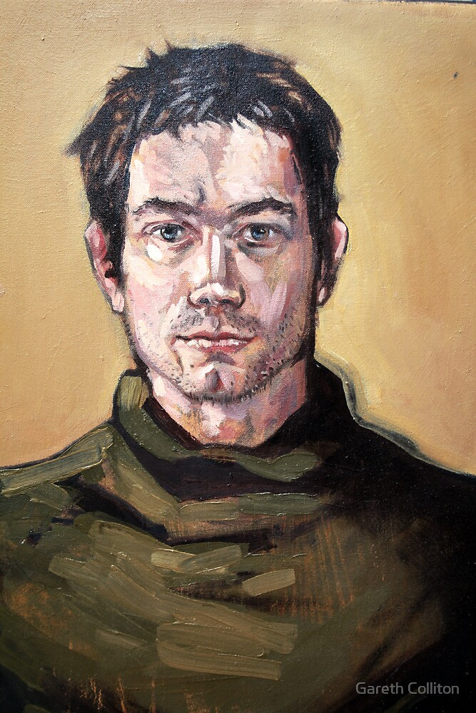 Self Portrait by Gareth Colliton