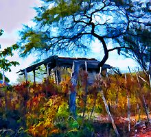 Tumbledown House by John Corney