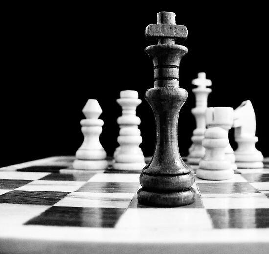 Chess 2 by Nathalie Chaput