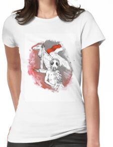 Metropolitan to Dystopia Womens Fitted T-Shirt