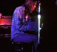 Neil Young In Concert by Jim Haley