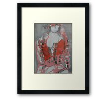 Love Bombed in High Resolution Framed Print