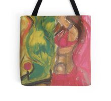 Woman in High Resolution Tote Bag