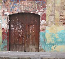 Old Door by Christine Anna Wilson