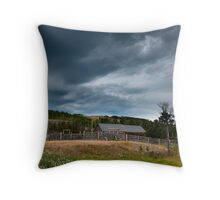 The Face Of The Storm Throw Pillow
