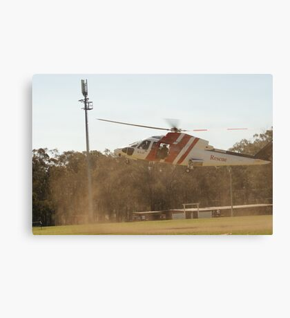 RAAF Rescue Helicopter Canvas Print
