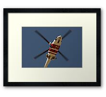 RAAF Rescue Helicopter Framed Print