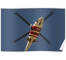 RAAF Rescue Helicopter Poster