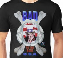 Uncle Sam T Shirt Bad To The Bone Unisex T-Shirt