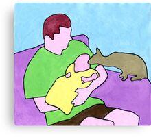 David, Rory & Bill Canvas Print