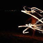 The Fire Twirler by KatRB