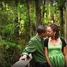 Kiss in the Woods by Joel Hall