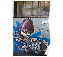 Melbourne Graffiti Artists Poster
