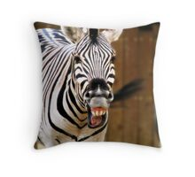 Ha Ha Ha  Throw Pillow