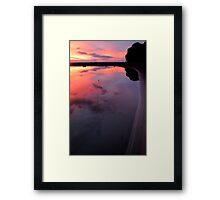 East coast beach 1 Framed Print