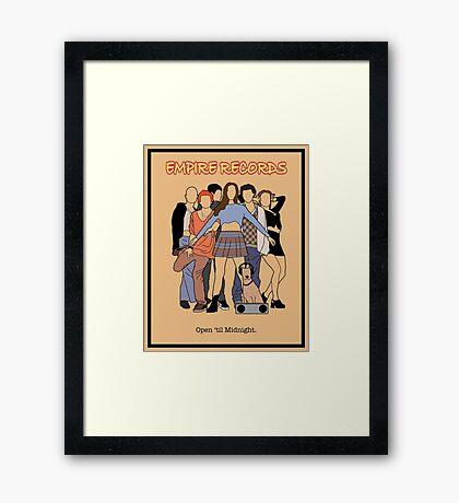 Empire Records - Movie Poster Framed Print