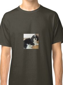 Shih tzu lie down puppy Classic T-Shirt