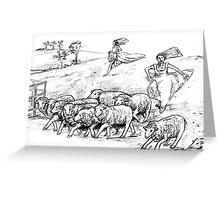 The Farmer Wants A Wife Greeting Card