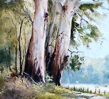 Tall Gums by The Road by Diko