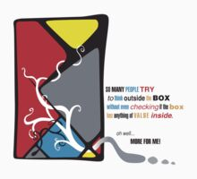 Think Inside The Box by Steve Malcomson