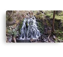Waterfall Natural Scene Canvas Print
