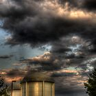 Water Towers by Dean Lichkov