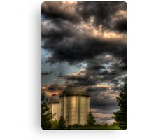 Water Towers Canvas Print