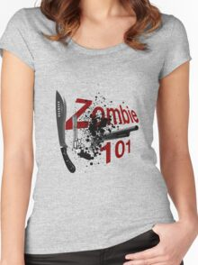 Zombie 101 Women's Fitted Scoop T-Shirt