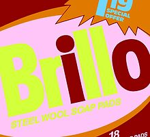 Brillo Box Package Colored 59 - Andy Warhol Inspired by peterpotamus