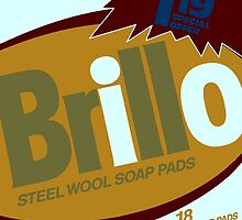 Brillo Box Package Colored 61 - Andy Warhol Inspired by peterpotamus