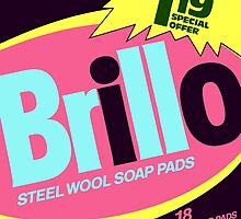 Brillo Box Package Colored 62 - Andy Warhol Inspired by peterpotamus