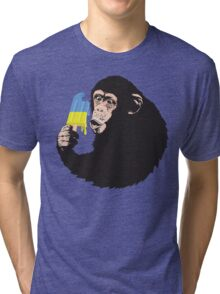 Oooooz Chimp Tri-blend T-Shirt