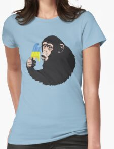 Oooooz Chimp Womens Fitted T-Shirt