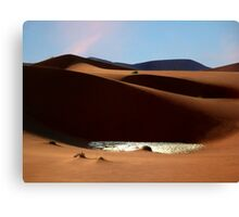 Sunny aftenoon Canvas Print