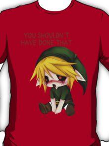 You Shouldn't Have Done That - Creepypasta Chibi Ben T-Shirt