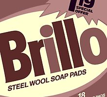 Brillo Box Package Colored 64 - Andy Warhol Inspired by peterpotamus