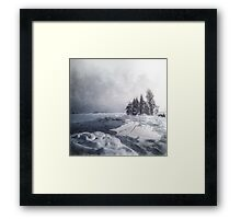 Winter & Ice Framed Print