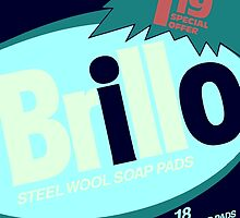 Brillo Box Package Colored 67 - Andy Warhol Inspired by peterpotamus