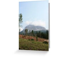 Beauty and Destruction Greeting Card