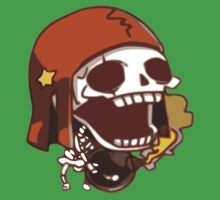 Skeleton with BomB Kids Clothes
