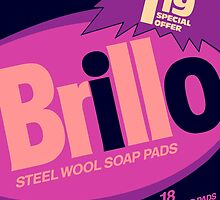 Brillo Box Package Colored 69 - Andy Warhol Inspired by peterpotamus