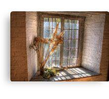 Old Goulburn Brewery Window Canvas Print