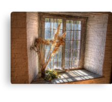 Old Goulburn Brewery Window Canvas Print