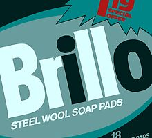 Brillo Box Package Colored 70 - Andy Warhol Inspired by peterpotamus