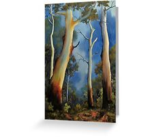 Gum tree view Greeting Card